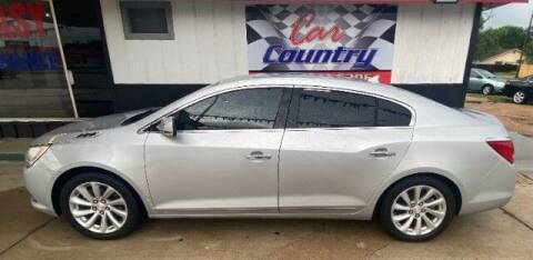 2014 Buick LaCrosse for sale at Car Country in Victoria TX