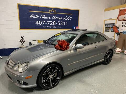 2009 Mercedes-Benz CLK for sale at Auto Chars Group LLC in Orlando FL