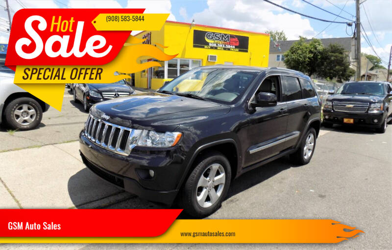 2012 Jeep Grand Cherokee for sale at GSM Auto Sales in Linden NJ