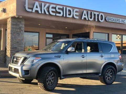 2017 Nissan Armada for sale at Lakeside Auto Brokers Inc. in Colorado Springs CO