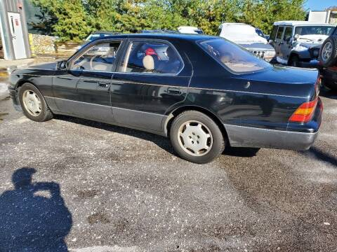 1997 Lexus LS 400 for sale at MX Motors LLC in Ashland MA