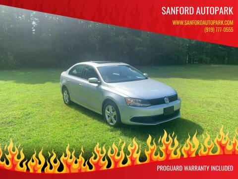 2011 Volkswagen Jetta for sale at Sanford Autopark in Sanford NC