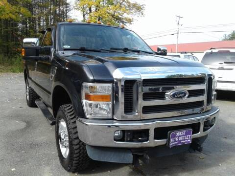 2010 Ford F-250 Super Duty for sale at Quest Auto Outlet in Chichester NH