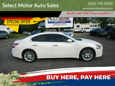 2010 Nissan Maxima for sale at Select Motor Auto Sales in Lynnwood WA