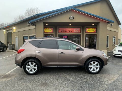 2009 Nissan Murano for sale at Advantage Auto Sales in Garden City ID