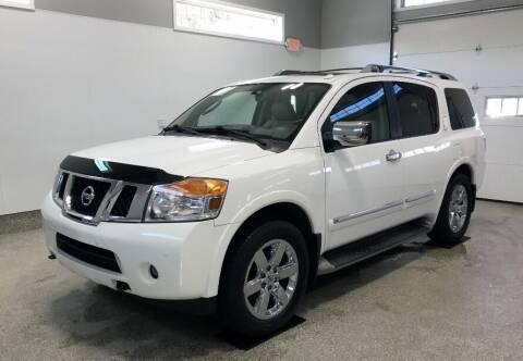 2011 Nissan Armada for sale at B Town Motors in Belchertown MA