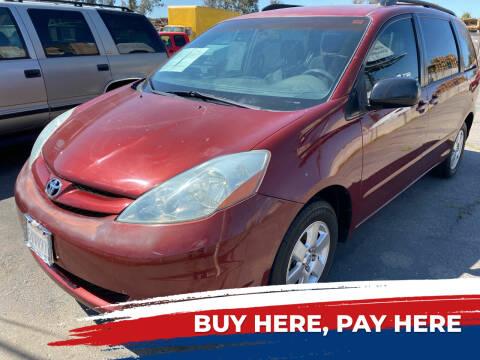 2006 Toyota Sienna for sale at El Compadre Auto Plaza in Modesto CA
