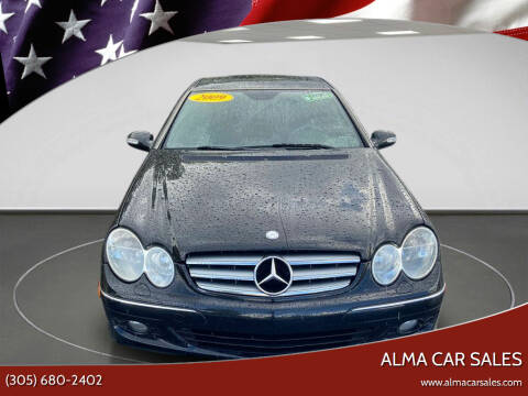 2009 Mercedes-Benz CLK for sale at Alma Car Sales in Miami FL