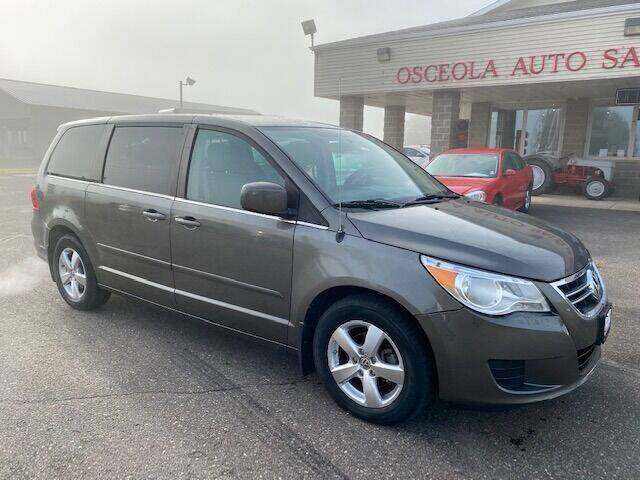 2010 Volkswagen Routan for sale at Osceola Auto Sales and Service in Osceola WI
