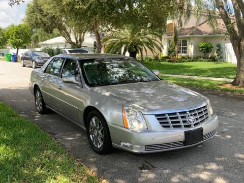2007 Cadillac DTS for sale at UNITED AUTO BROKERS in Hollywood FL