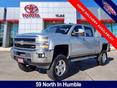 2015 Chevrolet Silverado 2500HD for sale at TEJAS TOYOTA in Humble TX