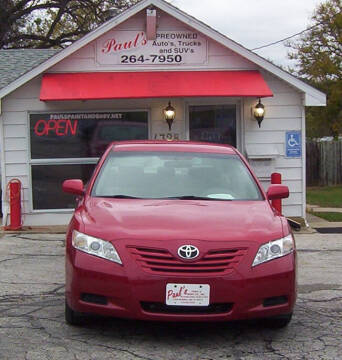 2007 Toyota Camry for sale at PAUL'S PAINT & BODY SHOP in Des Moines IA