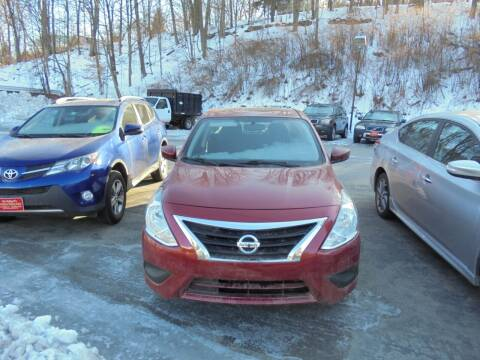 2017 Nissan Versa for sale at Precision Valley Auto Sales in Springfield VT