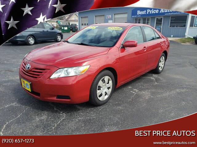 2009 Toyota Camry for sale at Best Price Autos in Two Rivers WI