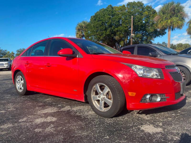 2012 Chevrolet Cruze for sale at Coastal Auto Ranch, Inc. in Port Saint Lucie FL