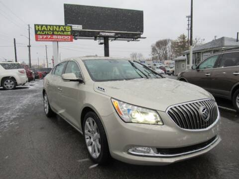 2016 Buick LaCrosse for sale at Hanna's Auto Sales in Indianapolis IN