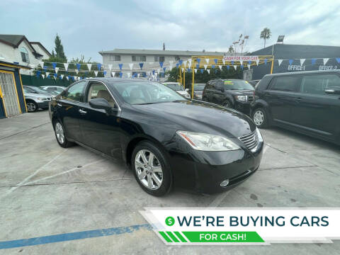 2008 Lexus ES 350 for sale at FJ Auto Sales North Hollywood in North Hollywood CA