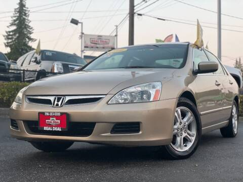 2006 Honda Accord for sale at Real Deal Cars in Everett WA