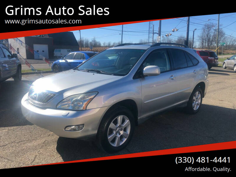 2008 Lexus RX 350 for sale at Grims Auto Sales in North Lawrence OH