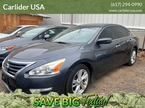 2013 Nissan Altima for sale at Carlider USA in Everett MA