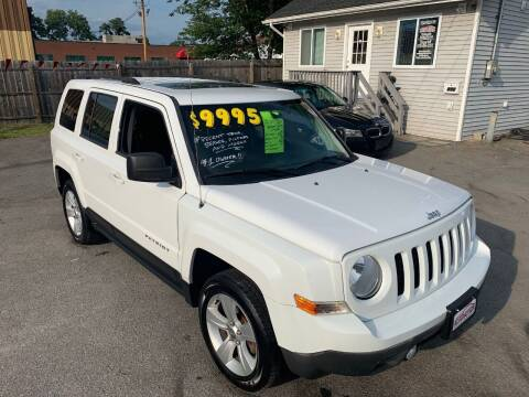 2014 Jeep Patriot for sale at Automotion Auto Sales Inc in Kingston NY