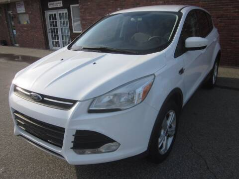 2013 Ford Escape for sale at Tewksbury Used Cars in Tewksbury MA