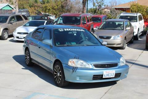 1999 Honda Civic for sale at Car 1234 inc in El Cajon CA