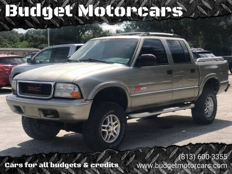 2003 GMC Sonoma for sale at Budget Motorcars in Tampa FL
