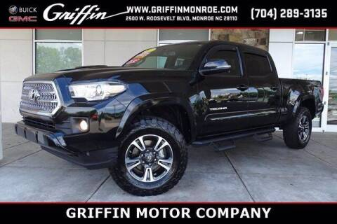 2017 Toyota Tacoma for sale at Griffin Buick GMC in Monroe NC