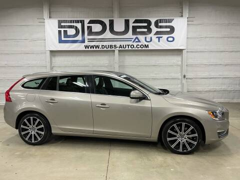 2015 Volvo V60 for sale at DUBS AUTO LLC in Clearfield UT