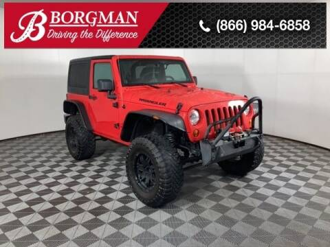 2013 Jeep Wrangler for sale at BORGMAN OF HOLLAND LLC in Holland MI