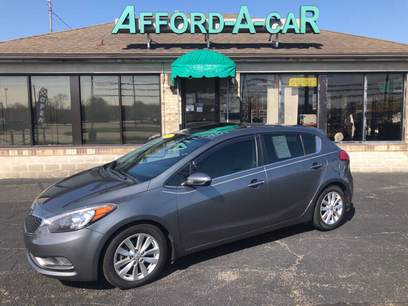 2015 Kia Forte5 for sale at Afford-A-Car in Moraine OH