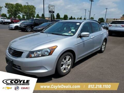 2010 Honda Accord for sale at COYLE GM - COYLE NISSAN - New Inventory in Clarksville IN