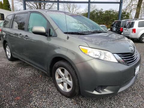 2012 Toyota Sienna for sale at Universal Auto Sales in Salem OR