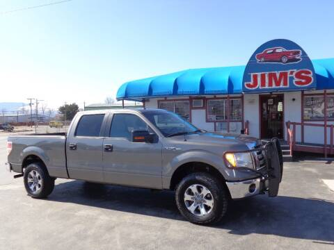 2012 Ford F-150 for sale at Jim's Cars by Priced-Rite Auto Sales in Missoula MT