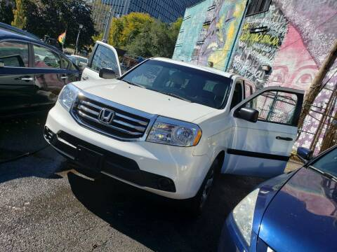 2012 Honda Pilot for sale at JOANKA AUTO SALES in Newark NJ