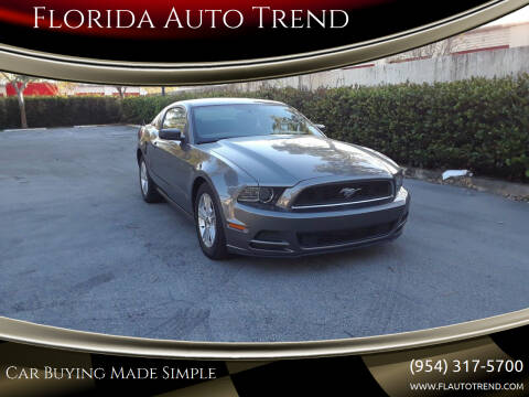 2014 Ford Mustang for sale at Florida Auto Trend in Plantation FL