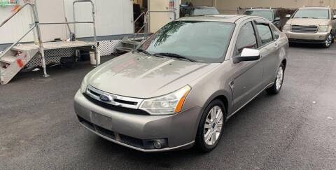 2008 Ford Focus for sale at 21st Ave Auto Sale in Paterson NJ