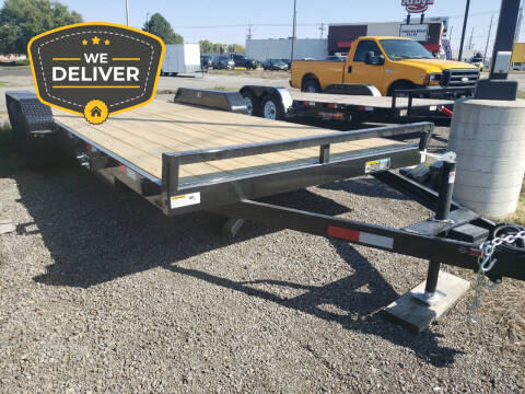 2020 H&H 20 FOOT FLATBED for sale at ALL STAR TRAILERS Flatbeds in , NE