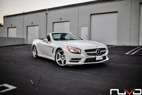 2013 Mercedes-Benz SL-Class for sale at Nuvo Trade in Newport Beach CA