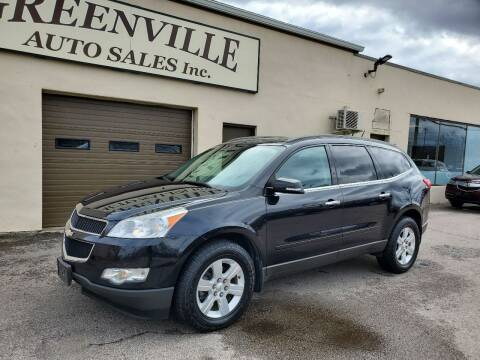 2011 Chevrolet Traverse for sale at Greenville Auto Sales in Warwick RI