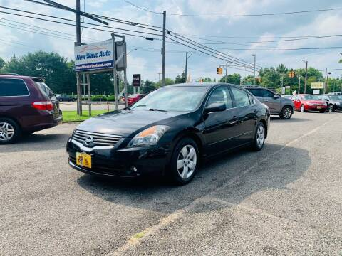 2007 Nissan Altima for sale at New Wave Auto of Vineland in Vineland NJ