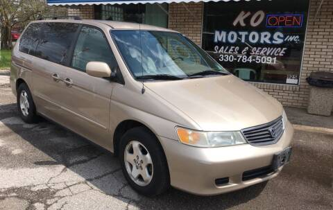 2001 Honda Odyssey for sale at K O Motors in Akron OH