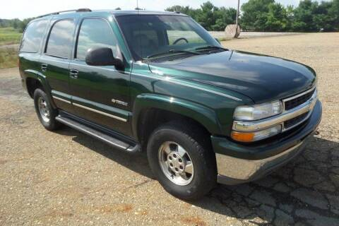2002 Chevrolet Tahoe for sale at WESTERN RESERVE AUTO SALES in Beloit OH