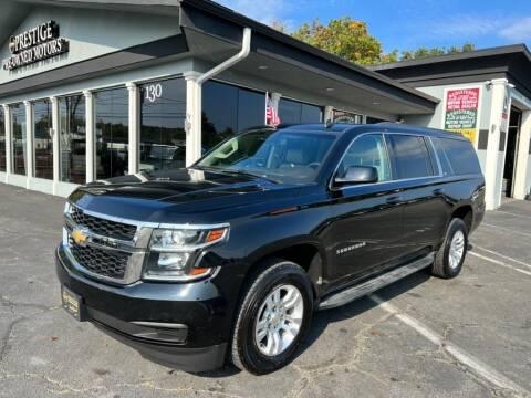 2015 Chevrolet Suburban for sale at Prestige Pre - Owned Motors in New Windsor NY