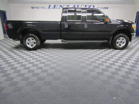 2016 Ford F-250 Super Duty for sale at LENZ TRUCK CENTER in Fond Du Lac WI