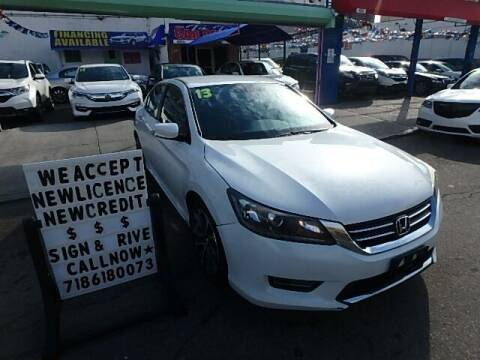 2013 Honda Accord for sale at Cedano Auto Mall Inc in Bronx NY