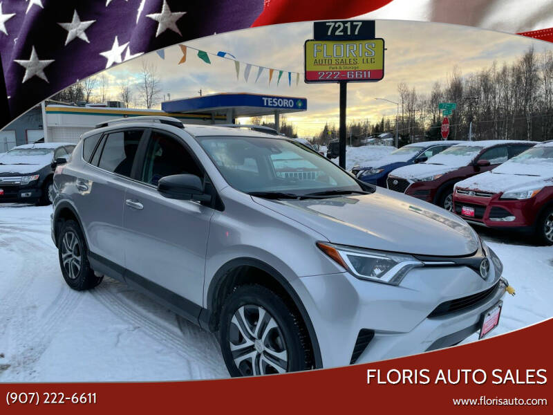2017 Toyota RAV4 for sale at FLORIS AUTO SALES in Anchorage AK