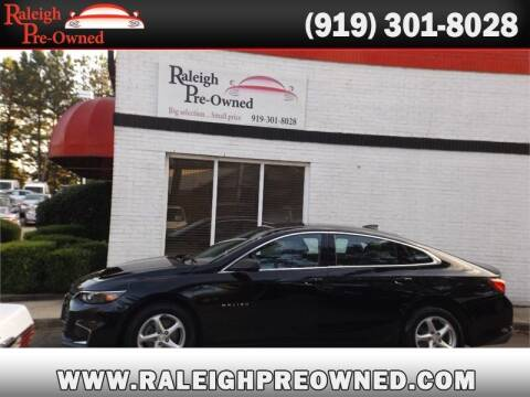 2016 Chevrolet Malibu for sale at Raleigh Pre-Owned in Raleigh NC