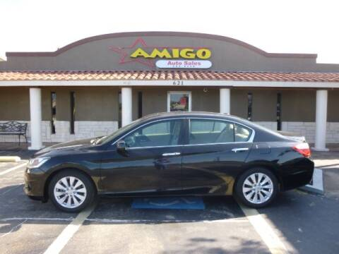 2013 Honda Accord for sale at AMIGO AUTO SALES in Kingsville TX